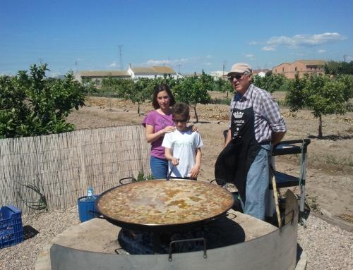 Valence en marron: le paysage culturel de la campagne et la Paella